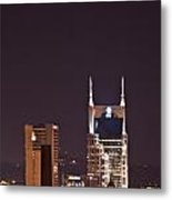 Nashville Cityscape 6 Metal Print