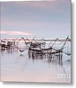 Native Asian Fishery Metal Print