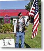 Never Forget 9 - 11 Metal Print by Thomas R Fletcher
