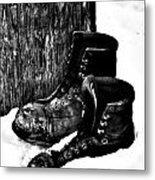 New Shoe Drop Off Metal Print