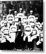 New York Giants, Baseball Team, 1889 Metal Print