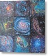 Nine Nebulae Metal Print