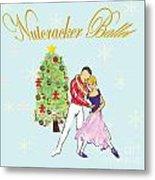 Nutcracker Ballet Romance Metal Print by Marie Loh