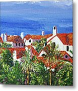 Off The Coast Metal Print
