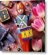Old Childrens Toys Metal Print by Garry Gay