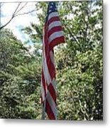 Old Glory Metal Print by Jeannie Atwater Jordan Allen