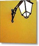 Old Street Lamp Metal Print by Carlos Caetano