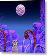 On Another Planet Metal Print by Douglas Barnard