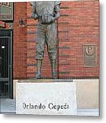 Orlando Cepeda At San Francisco Giants Att Park .7d7631 Metal Print