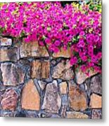 Over The Wall Metal Print