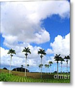 Palm Parade Metal Print