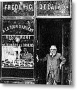 Paris: Restaurant, 1890s Metal Print