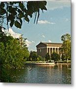Parthenon At Nashville Tennessee 10 Metal Print by Douglas Barnett