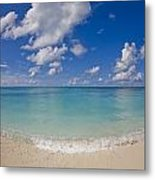 Perfect Beach Day With Blue Skies Metal Print