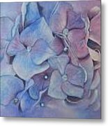 Petals Metal Print by Patsy Sharpe