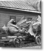 Peter The Great, Resting On A Wagon Metal Print by Maynard Owen Williams