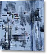 Philosophy With Surface Metal Print by Pam Tapp