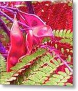 Pink Mimosa Metal Print by Juliana  Blessington
