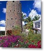 Pirate Castle Tower Metal Print