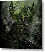 Plant Man Cometh Metal Print