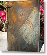 Planter Metal Print by Christine Belt