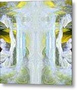 Pond In Fairyland Metal Print