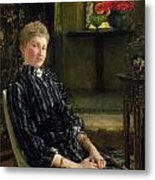 Portrait Of Mrs Ralph Sneyd Metal Print