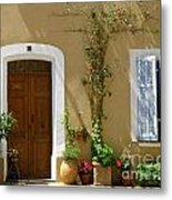 Provence Door 3 Metal Print by Lainie Wrightson