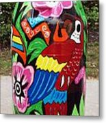 Rain Barrel 2 Metal Print