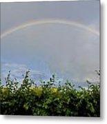 Rainbow In Warwick Metal Print