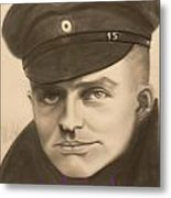 Red Baron Metal Print by Maily