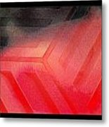 Red Corrosion Metal Print by Eleigh Koonce