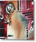 Red Divinity By Madart Metal Print