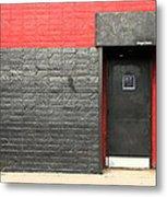 Red Wall Metal Print by Viktor Savchenko
