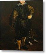 Replica Of Sir Anthony Van Dyck's Filippo Cattaneo Metal Print