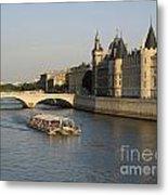 River Seine And Conciergerie. Paris Metal Print