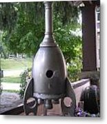 Rocket Metal Print by Gordon Wendling