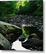 Rocky River Metal Print by Joyce Kimble Smith