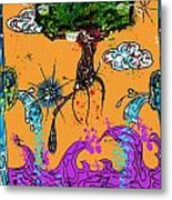 Rooted Envisionary Metal Print