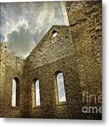 Ruins Of A Church In Ontario Metal Print