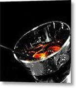Rye And Coke Please Metal Print