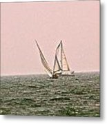 Sails Metal Print by Amber Hennessey