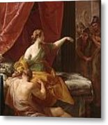 Samson And Delilah Metal Print