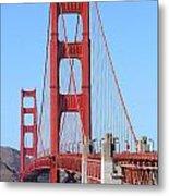 San Francisco Golden Gate Bridge . 7d8164 Metal Print