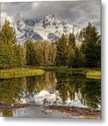 Schwabacher's Landing Metal Print by Charles Warren
