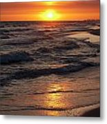Seaside Serenade I Metal Print
