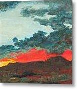 Sedona Sunset Metal Print