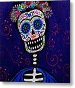 Senorita Frida Metal Print