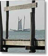 Ship 24 Metal Print by Joyce StJames