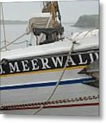 Ship 28 Metal Print by Joyce StJames